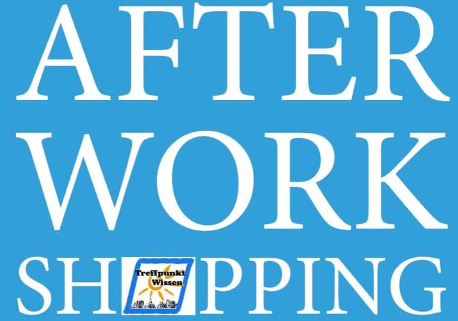 Flyer After-Work-Shopping verbessert